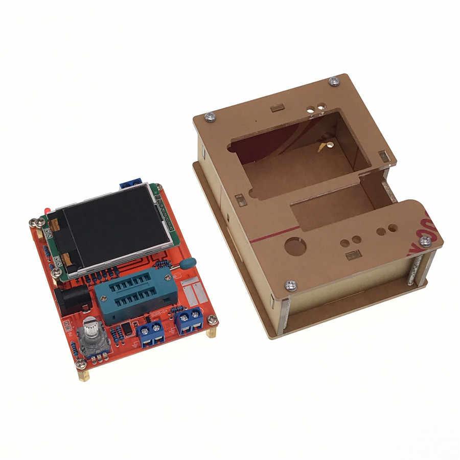 Dc 6.8-12ボルト30ma gm328トランジスタテスター160 × 128液晶デジタル表示周波数測定pwm方形波diyツールキット