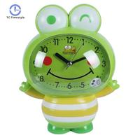 Cartons Alarm Clock Led Nightlight Snooze Timer Table Watches Cube Cat Frog Silent Electronic Battery Alarm Clocks
