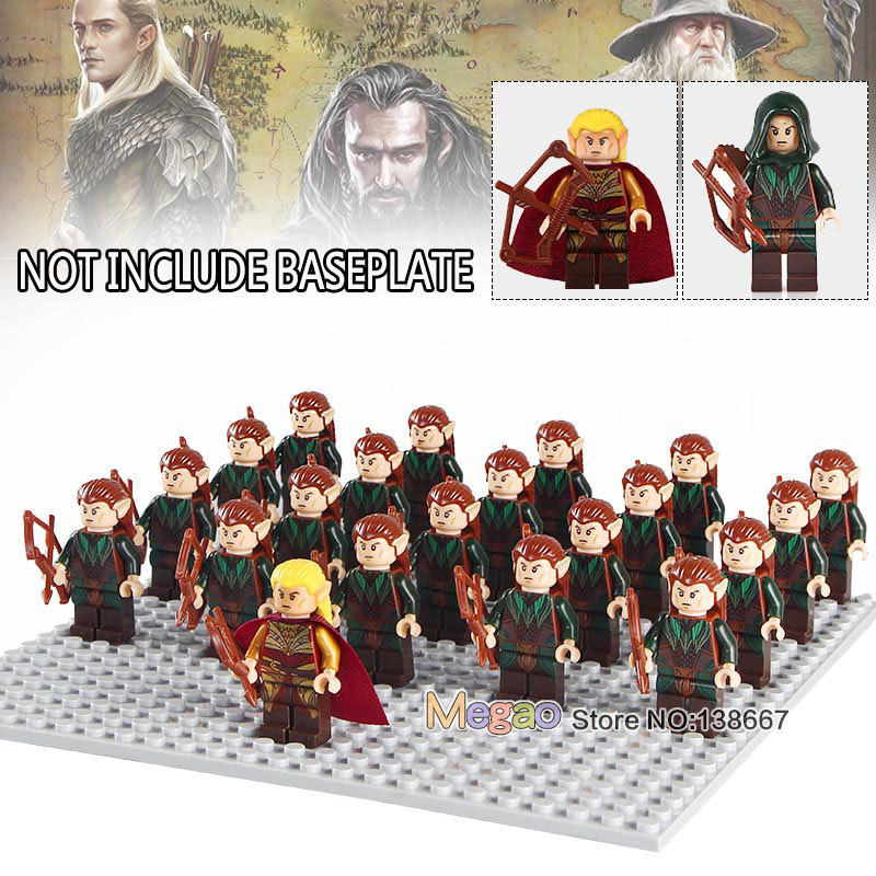 Toys & Hobbies 21pcs/lot Legoings Lord Of The Rings Army Group Figures Building Blocks Mordor Orc Army Group Mouth Of Sauron Toys Gift For Kid Model Building