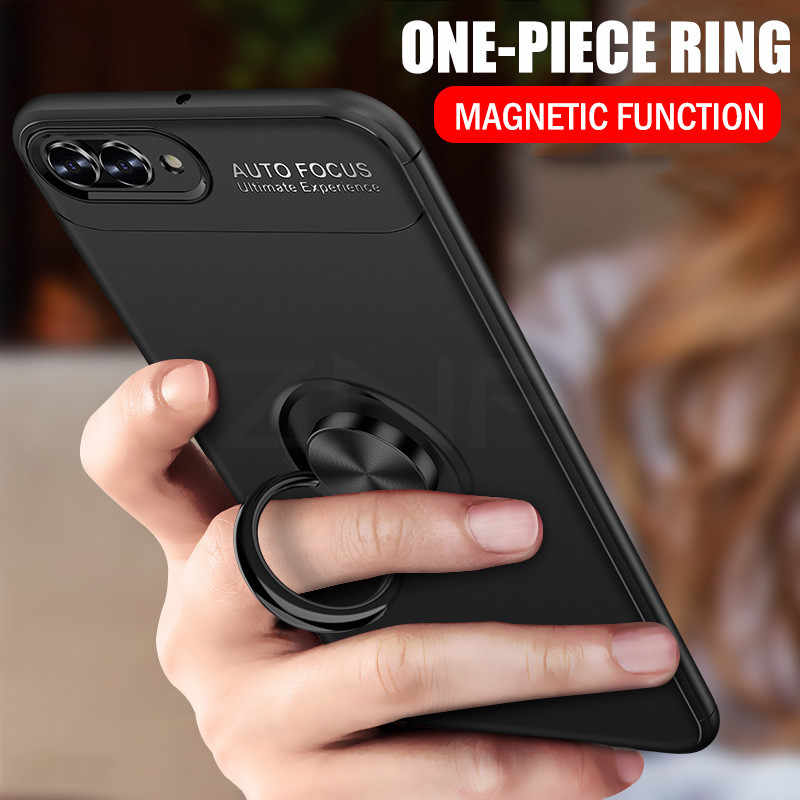 ZNP Luxury Magnetic Ring Stand Cover For Huawei Nova 2 2s 3 3i Phone Case For Honor Play for honor 10 Lite 8X Max Shell Cases