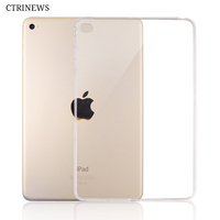 Silicone Cover For IPad Air 2 Air 1 Transparent Soft TPU Case For IPad 2 3
