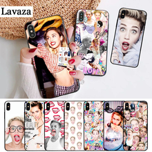 Lavaza Miley Cyrus Soft Rubber Silicone Case for iPhone 5 5S 6 6S Plus 7 8 11 Pro X XS Max XR