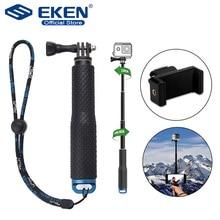 拡張可能なハンドヘルドスティック伸縮一脚三脚移動プロヒーロー 7 黒 6 F60 eken H9R iphoneサムスン