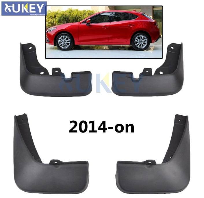 For Mazda 3 (BM) Axela Hatch Hatchback Set Car Mud Flaps Mudflaps Splash Guards Mud Flap ...