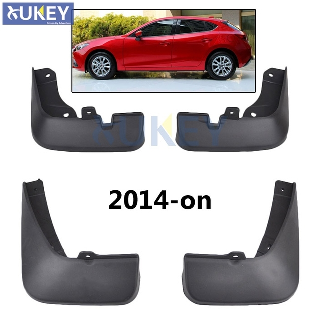 Para Mazda 3 (BM) Axela Escotilha Hatchback Conjunto Carro Mudflaps Mud  Flaps Respingo Guardas