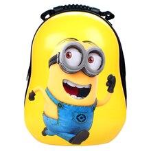 2016 neue Kinder Schultasche Kinder Rucksack Mochilas Escolar Infantile Kindergarten Tasche Lustige Nette Yellow Minions Rucksäcke