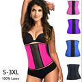 factory Wholesale Corsets and Bustier Sexy Latex Waist Corsets Underbust Bustier corselet body shapers for trainer