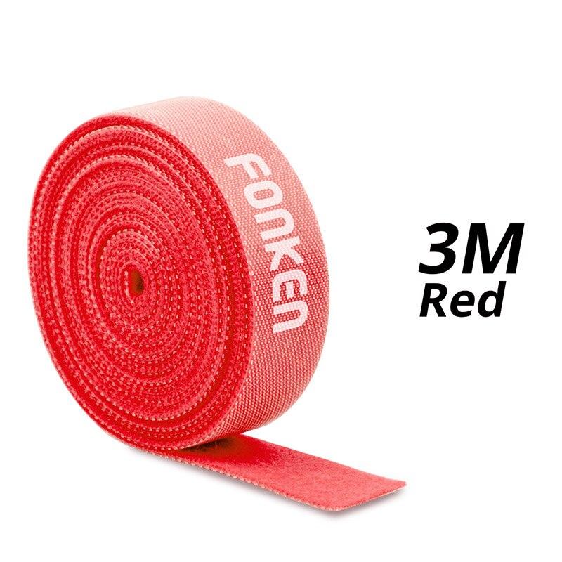 3m Red Velcro