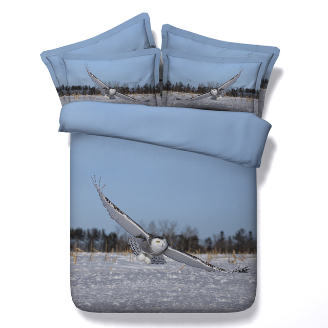 3d Flying Eagle Bedding Sets Queen Full King Twin Size Kids
