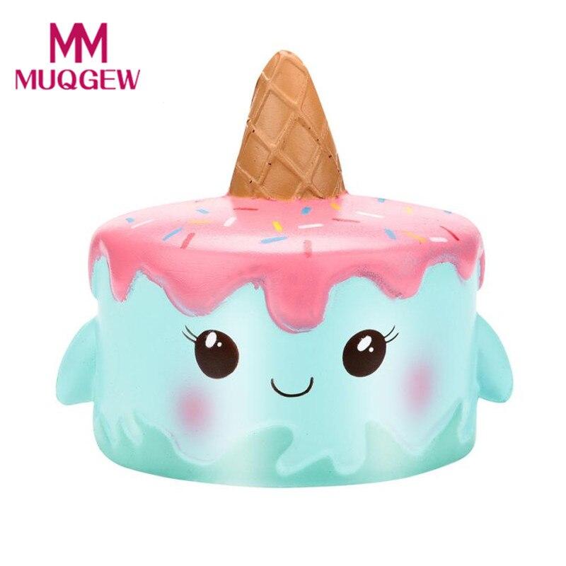 oyuncak squishy speelgoed Drop shipping Kawaii Cartoon Unicor Cake Squishy Slow Rising Cream Scented Stress Reliever Toy 2018