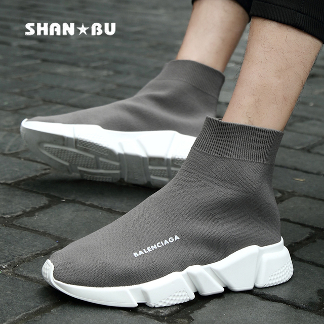 Shoes Man Socks Sneaker The Summer Male Casual Shoes Breathable Jogging  Walking Woven shoes Scarpa Con Calzino Sneakers 8114f5ba8a0