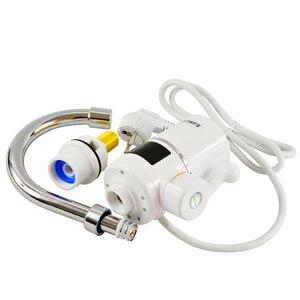 Image 5 - ATWFS anında sıcak SU ISITICI dokunun hızlı anlık termostat SU ISITICI 3000w elektrikli musluk sıcaklık göstergesi