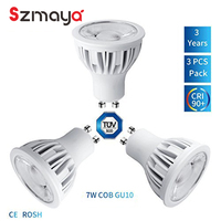 3 Pack Of SZMAYA LED 6 W 24 Degree GU5 3 Spot Light Replacement For 65