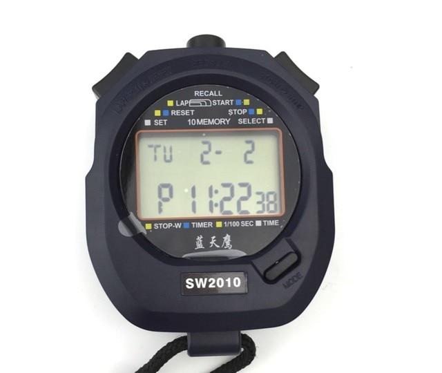 cronometro for exercise timer digital multifunctxion sw2010 multicronometro for exercise timer digital multifunctxion sw2010 multi function black stopwatch, 2 line sports timer