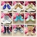 5 pairs/lot смешивать стили много - цвет Morden подлинная кукла обувь аксессуары игрушка для друга кен кукла подарок