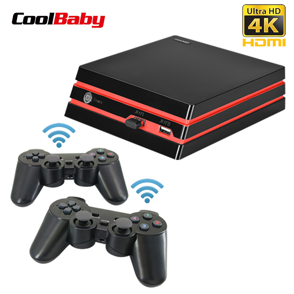 Coolbaby 2018 החדש HDMI/AV וידאו קונסולת משחקי 64 קצת תמיכת 4 k פלט רטרו 600 קלאסי משפחת וידאו משחקי רטרו משחק קונסולה