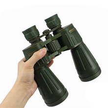 15X60 Binoculars Telescope High Definition Portable Glimmering Hunting Life Waterproof Binocle FMC Green Film Field-glasses