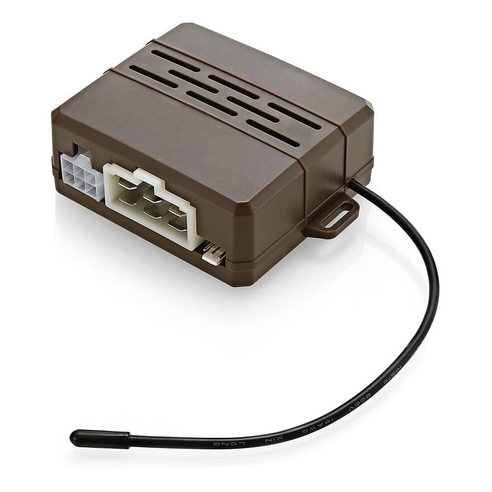 D7 universel 12 V Anti-vol alarme De voiture alarme De Vibration une clé De démarrage télécommande Alarmas De Vehiculo