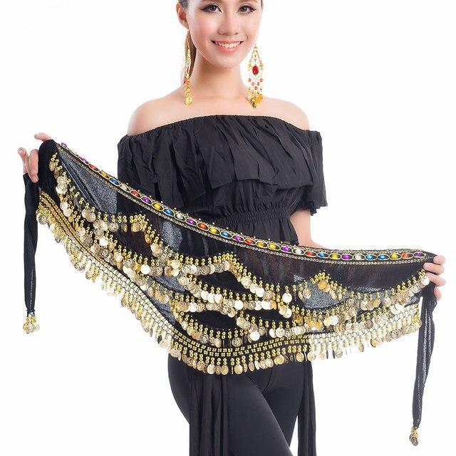 37250b8946 Belly dance skirt bellydance hip scarf Belly Dance Belt costume danse gypsy  clothing egyptian belly dance