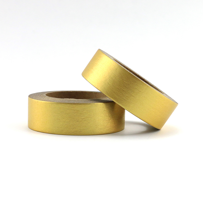 Gold Foil Washi Tape Paper Scrapbooking Masking Tape Adhesive Tape Sticker Decorative Stationery Tapes