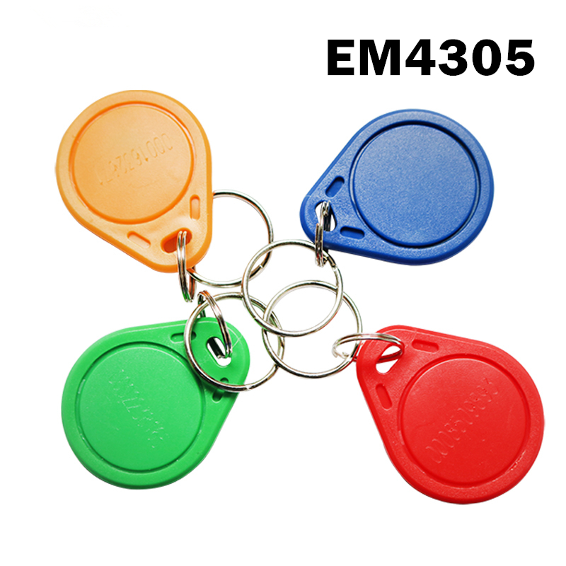 Access Control Cards 10pcs Back To Search Resultssecurity & Protection Rfid Em4305 125khz Rfid Tag Replicable Waterproof Rfid Cards Keyfobs Keychain Key Finder Access Control Cards For Copy
