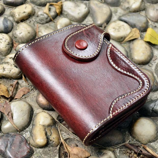 Genuine leather wallet 0
