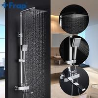 FRAP bathroom shower faucet set bathtub faucets shower mixer tap Bath Shower taps rainfall shower head set mixer torneira