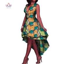 2017 African Dresses for Women V-Neck Sexy Women Party Dresses Maxi Dress  Dashiki Plus Size Women Clothing 6XL BRW WY1986 94ae1f59cf88