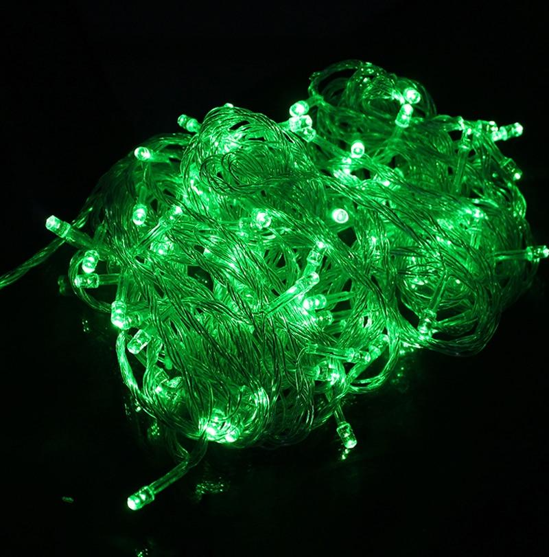 10M Vanntett 110V / 220V 100 LED-ferie Stringlys til julfestivalen - Ferie belysning - Bilde 2