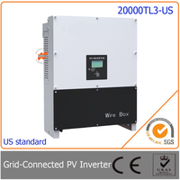 20000W 20KW Grid Tie Inverter Three Phase With 97 5 High Efficiency Easy Install For Photovoltaic