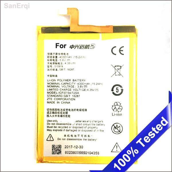 for ZTE Blade X3 Q519T D2 A452 Battery E169-515978 E169 515978 Battery 4000mAh High Quality