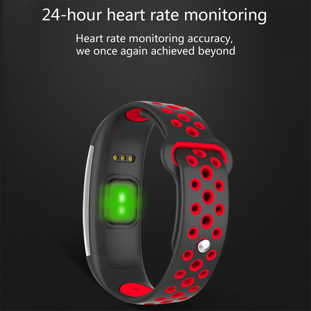GIVENONE Q6 Fitness tracker Heart Rate Monitor Anti-lost Multiple Function Wristband Call Remind Find Phone Smart Band Braclet