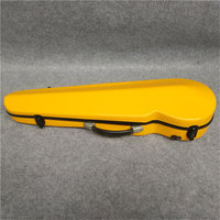 High quality white glass fiber violin case. You can put 2 violin bow. A variety of colors can be produced