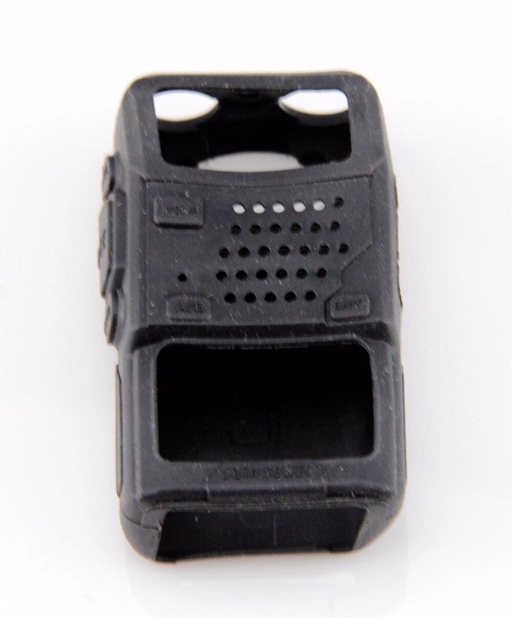 Boîtier-étui en caoutchouc souple pour Radio BAOFENG BF UV-5R UV-5RA UV-5RB UV-5REPlus TF-UV985 TYT TH-F8