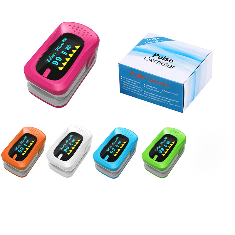 Portable Pulse Oximeter Pouch Setting Alarm Beep Fingertip SPO2 Pulse Rate Oxygen Monitor Medical Finger Pulse Saturation Meter (9)