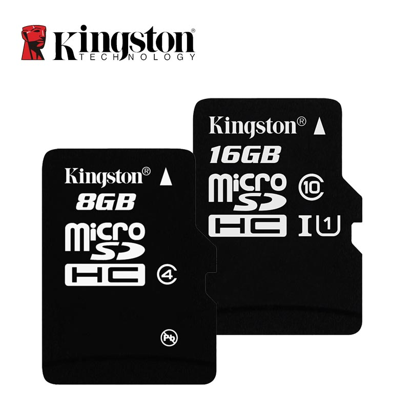 Kingston Micro SD Card 16GB Class 10 Memory Card C10 Mini SD Card C4 8GB SDHC SDXC TF Card For Smartphone Dropshipping