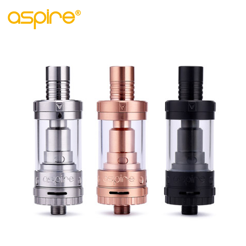Electronic Cigarette Atomizer Aspire Triton Mini Tank 2ML Vaporizer Pyrex Glass Tank 510 Thread Atomizer Top Filling Vape Tank