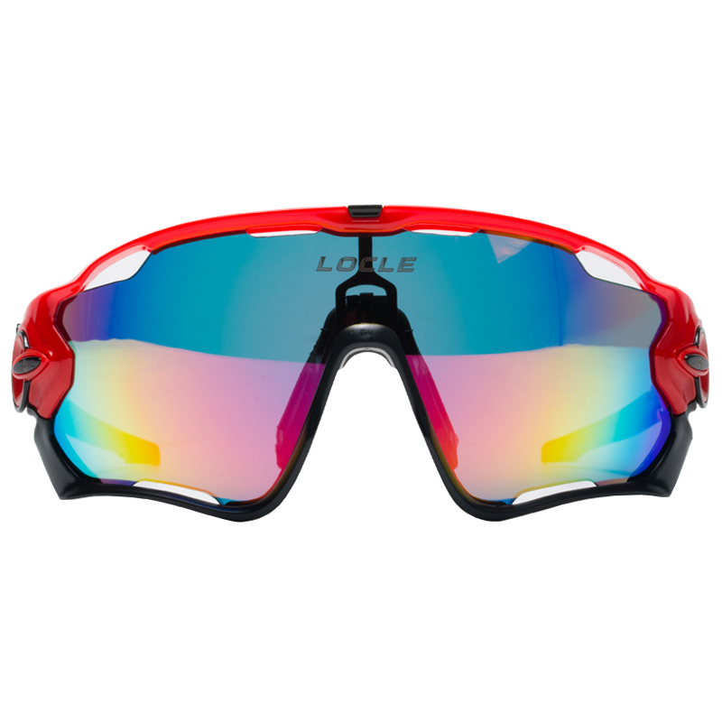 7f301a4229f Road Mountain Cycling Glasses Goggles Eyewear Polarized UV400 Cycling  Bicycle Sunglasses Oculos Gafas Ciclismo 5 Lens-in Cycling Eyewear from  Sports ...