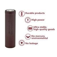1/2/4/6/8/10 Pcs New INR18650-HG2 3.7 V 20A 3000mAh Flat 18650 Li-ion Batteries For Torch Headlamp Flashlight Battery Replace 2