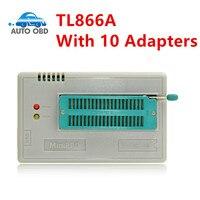 2017 100 Original NEWEST V6 6 Mini Pro TL866A Usb Programmer 10 Items IC Adapters High
