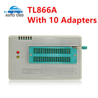2017 100 Original NEWEST V6 6 Mini Pro TL866A Usb Programmer 10 Items IC Adapters High