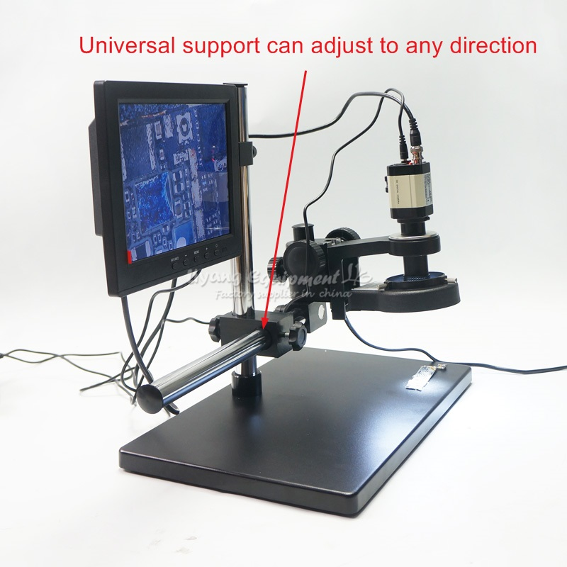 LY CCD camera KE-208 kit for bga rework station supervising system can adjustable magnifier ccd camera