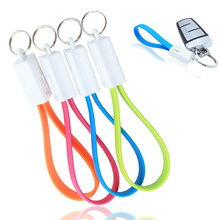 Portable Key Chain Key Ring Micro USB Charger Cable Cord for Android Samsung HTC iPhone 5 5s 6 6s plus