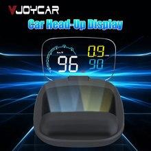 VJOYCAR 2019 Новый C600 БД на борту HUD автомобилей Head Up Дисплей автомобилей компьютерной цифровой Скорость проектор для вождения Скорость расход топлива проэкция скорости