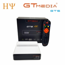 GTmedia GTS Satellite Receiver DVB-S2Android 6.0 TV BOX+DVB-S/S2  android 6.0 TV BOX 2GB RAM 8GB ROM BT4.0  GTMEDIA GTS