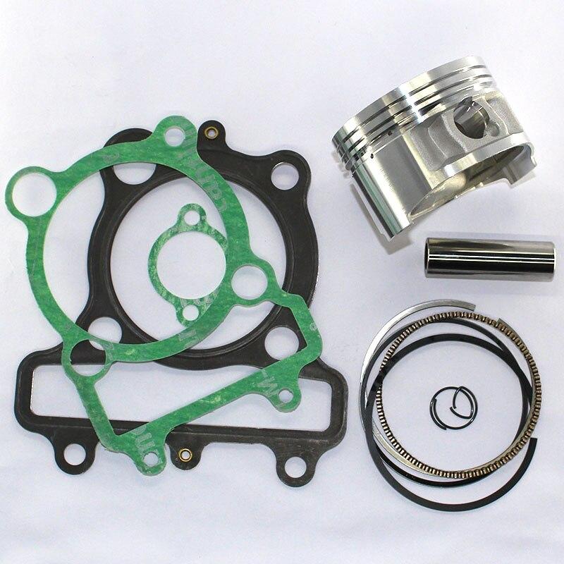 Cylinder Piston Kit /& Top End Gasket for Yamaha XT225 TTR225 TTR230 70mm STD