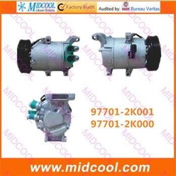 Wysokiej jakości auto AC sprężarka VS12N dla 97701-2K001 97701-2K000