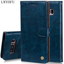Flip holster for Samsung Galaxy Note 8 Mobile Shell Simulation Leather Case For Samsung Galaxy Note 9 Wallet Stand Phone Case цена 2017