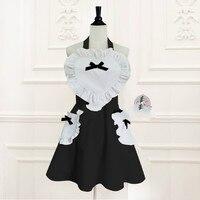 Princess sweet lolita South Korea/Japanese style sweet Heart palace Princess maid apron for cooking/baking WQ03