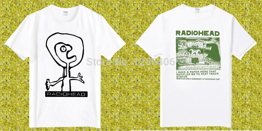 Free Shipping RADIOHEAD ASTRONAUT Britpop UK rock Cotton O